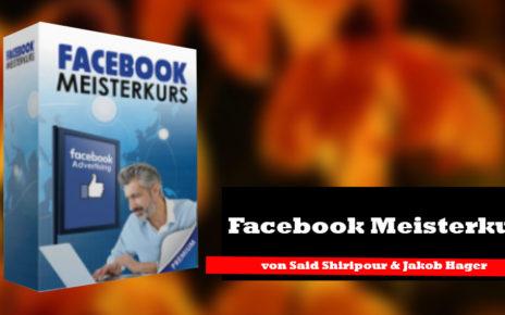 Der Facebook Meisterkurs